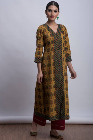 long kurta - flora & autumn
