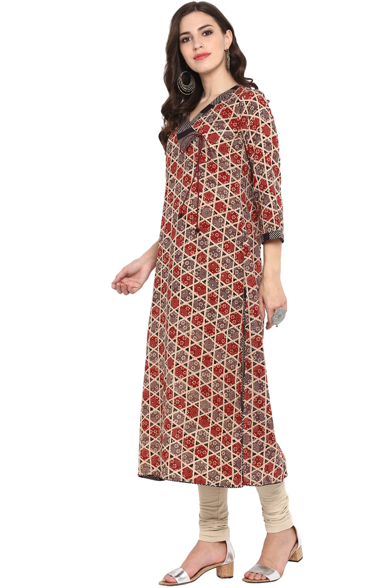 FLAP COLLAR KURTA - DIL DHADAKNE DO
