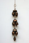 home decor - copper bell - thirteen bell jhoomar & windchime
