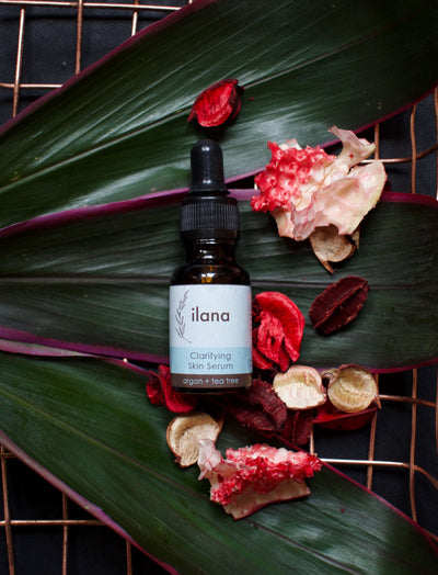 ILANA ORGANICS - CLARIFYING SKIN SERUM . ARGAN + TEA TREE