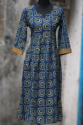 dress - indigo & mor pankh