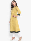 2 layer jacket-dress: honey drops & warm sun