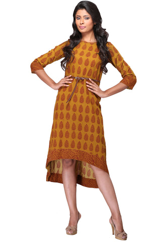 long kurta - henna bagh & asymmetry