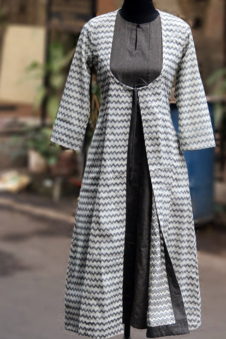 jacket & dress - mangalgiri & monochrome