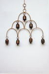 home decor - copper bell - cloud & windchime