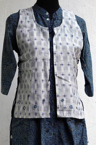 jacket - ikat & mashroo
