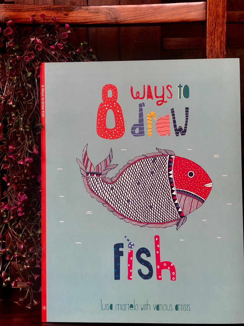 book bliss - 8 ways to draw a fish