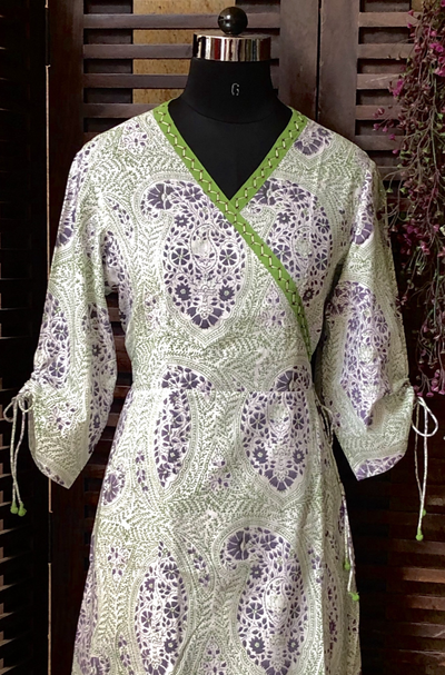 angrakha - paisley & hues of purple
