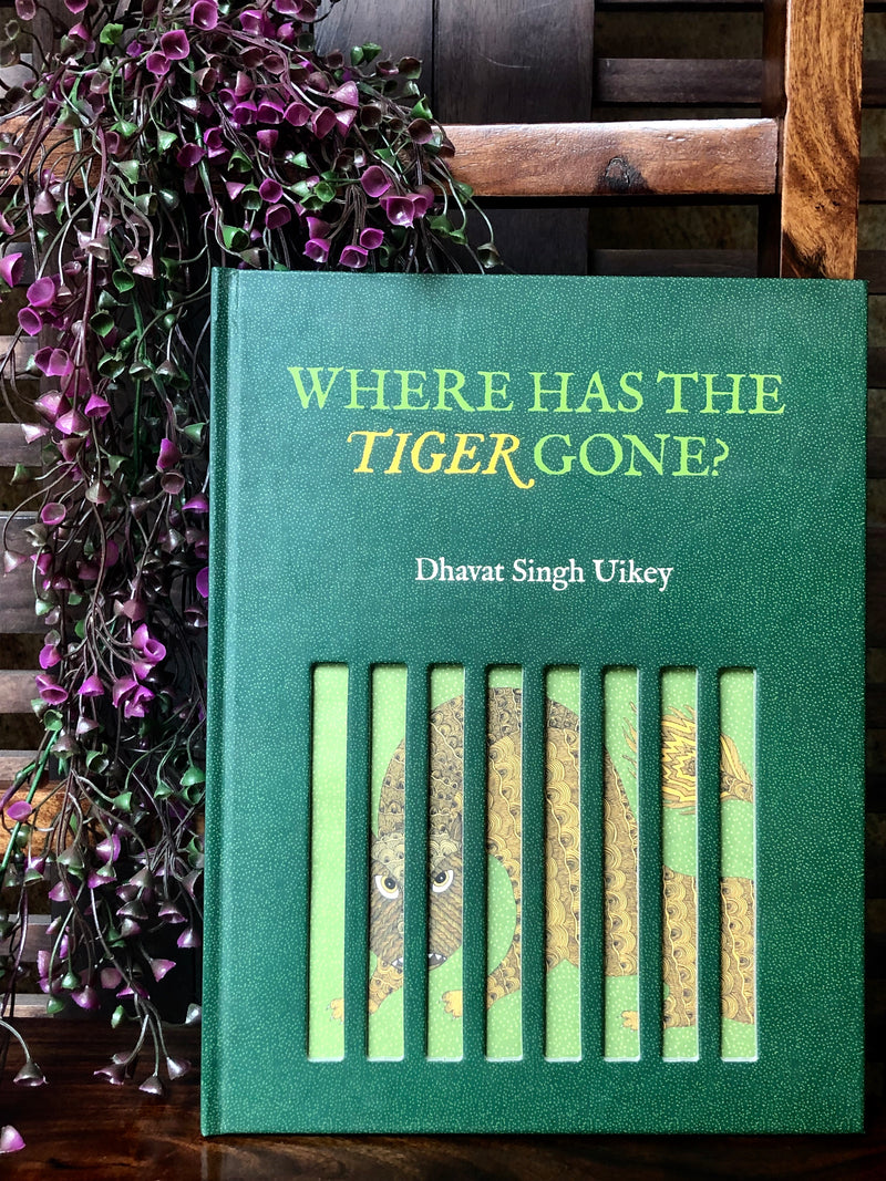 book bliss - where has the tiger gone
