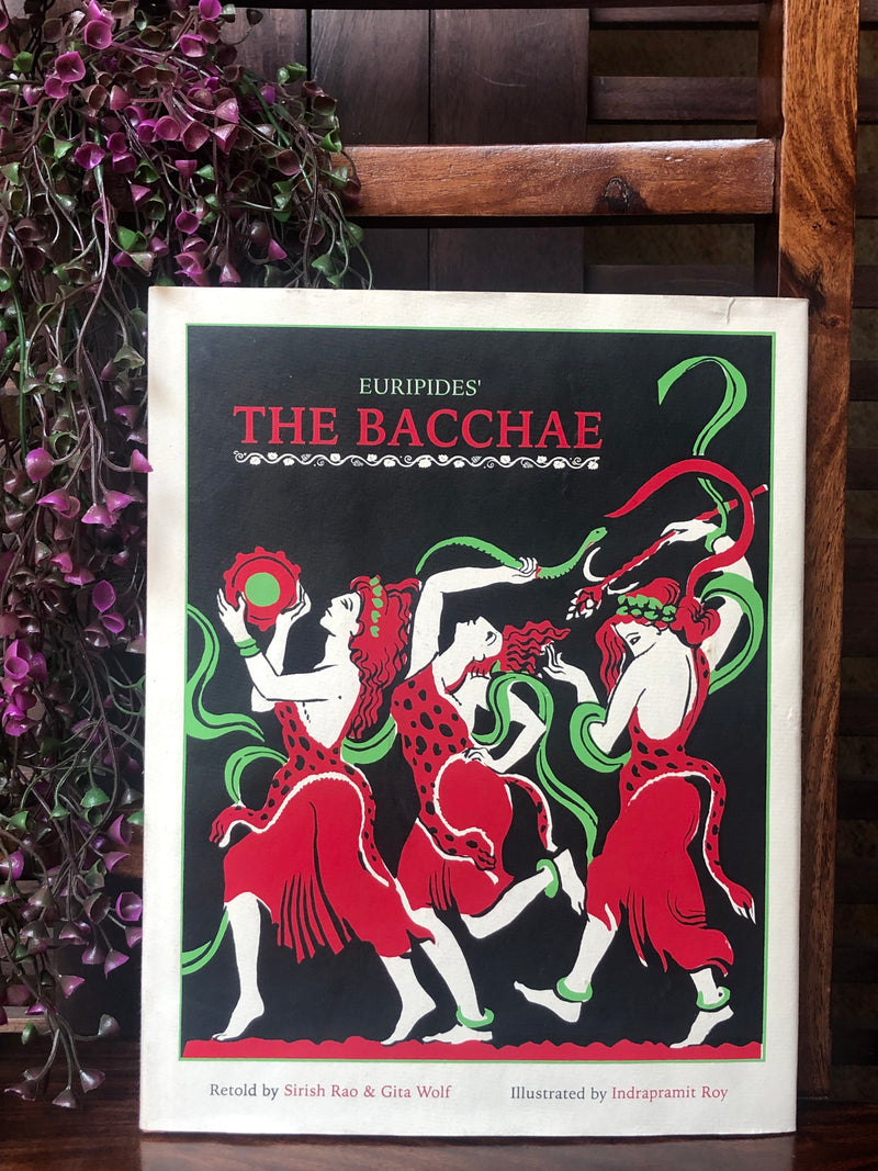 book bliss - the bacchae