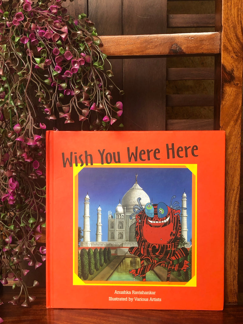 book bliss - wish you were here