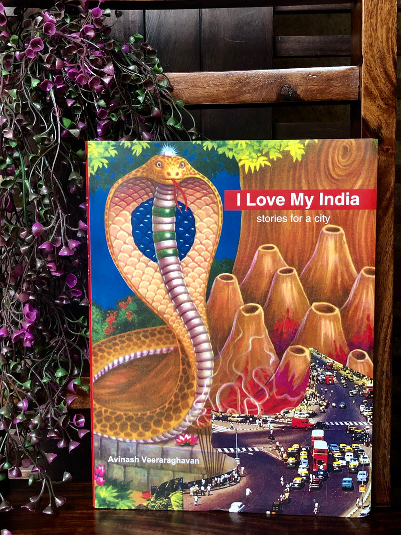 book bliss - I love my India