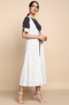 sleeveless mughal jacket + dress - ebony & pages