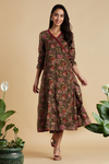 wrap dress - secret garden & floral whispers