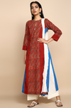 long kurta  - ruby love & cobalt