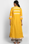 kalidhar kurta  + chanderi pants  - marigold fields & a dash of grey