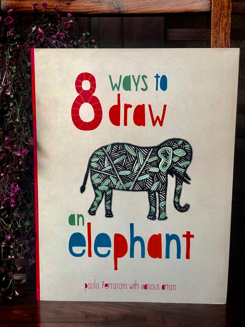 book bliss - 8 ways to draw an elephant