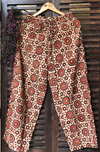 elasticated printed pants - madder & chakkar riyal