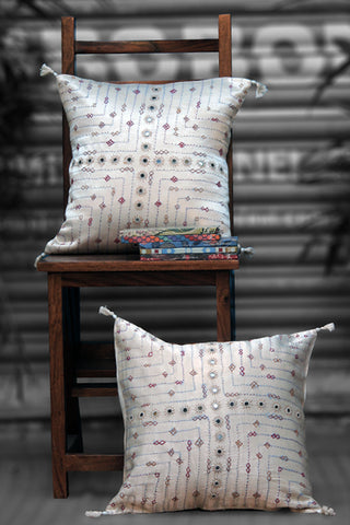 mashroo cushion cover - ivory white