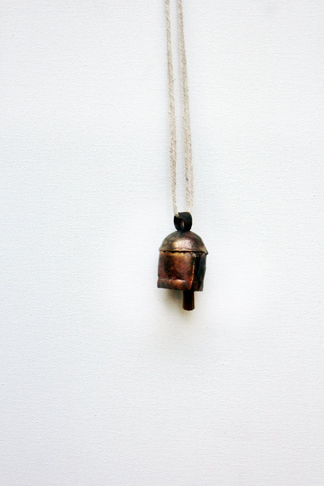 home decor - copper bell - number three