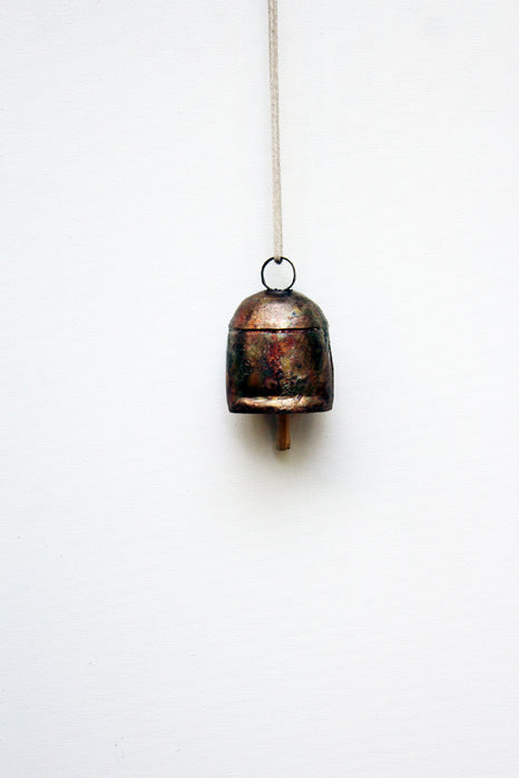 home decor - copper bell - number four