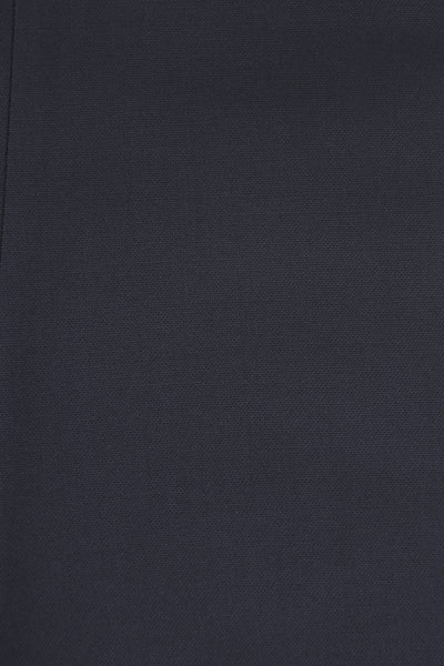 207 Flat-fronted in navy wool