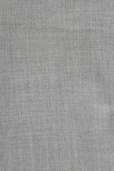 207 Single-pleated in light grey wool