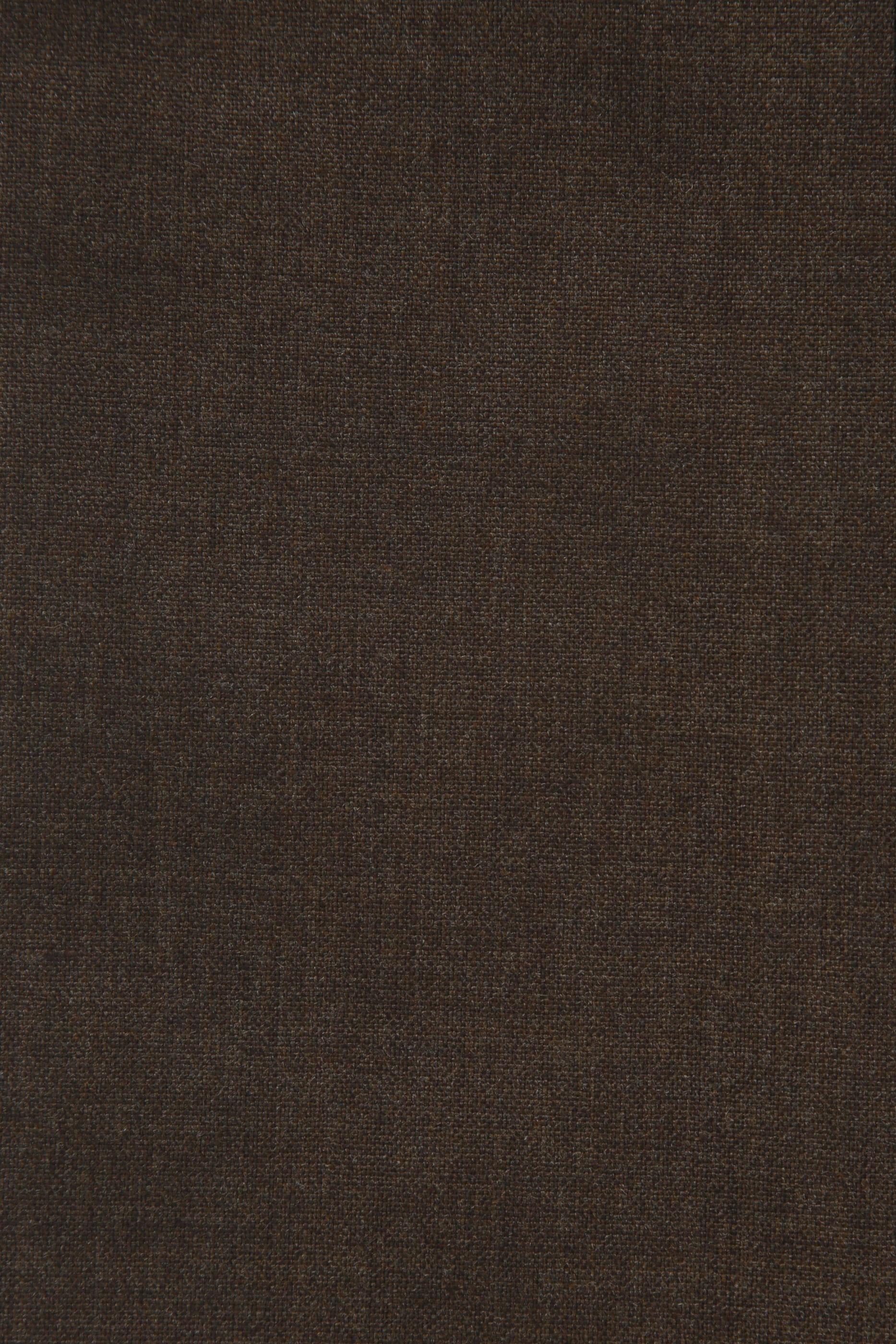 207 Single-pleated in brown wool