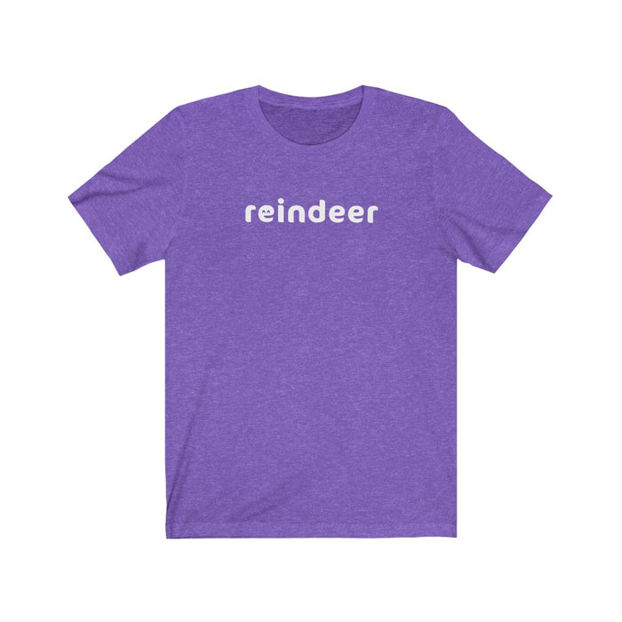 Reindeer Tee (Smiley)