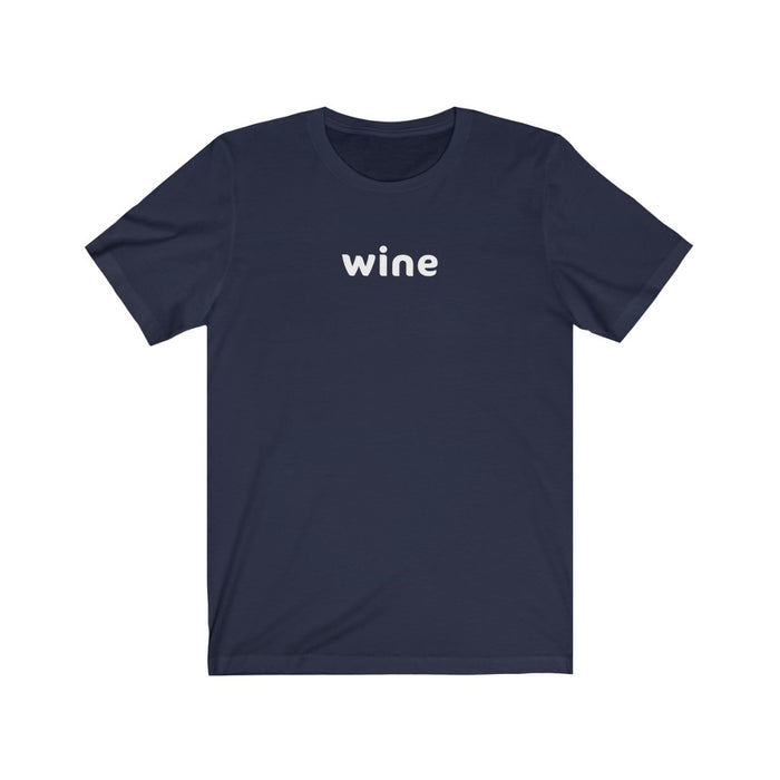 Wine Tee (No Lemoji)