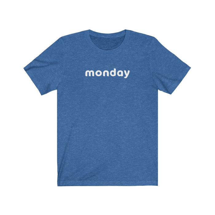 Monday Tee (No Lemoji)