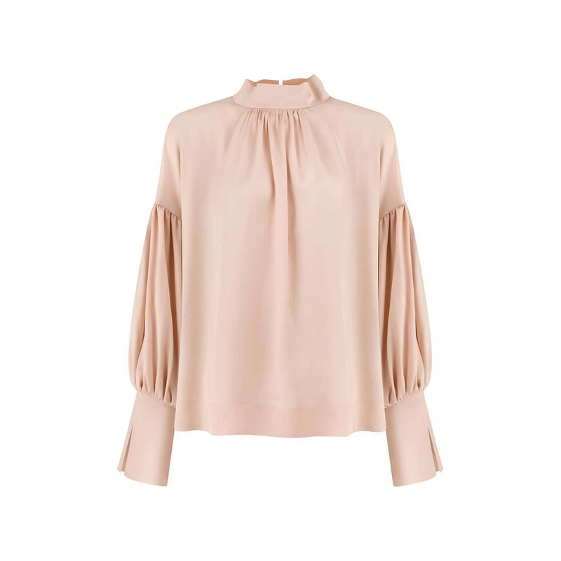 Amy Salmon Viscose Blouse - Space to Show