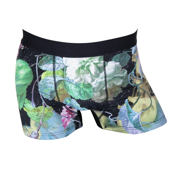 Men's boxer briefs / No.: UN18012 / Design title: the last flower - Space to Show