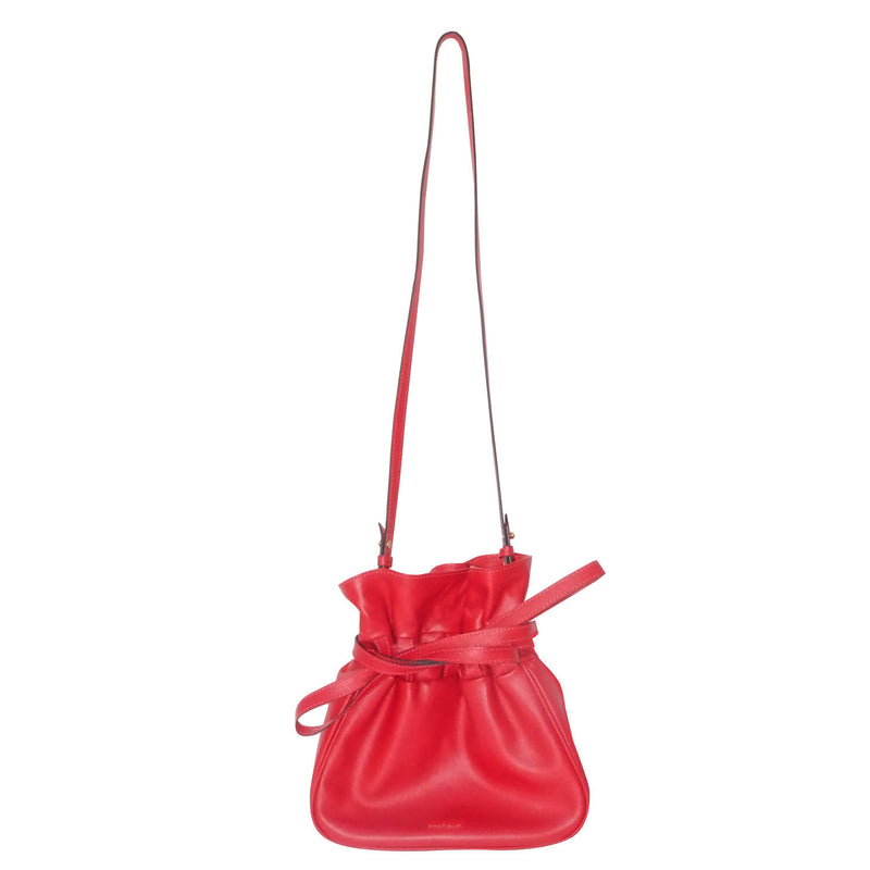Sacfleur leather bag in red - Space to Show