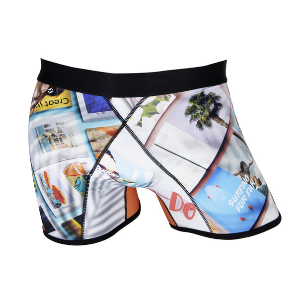 Men's boxer briefs / No.: UN19008 / Design title: fashion resort - Space to Show