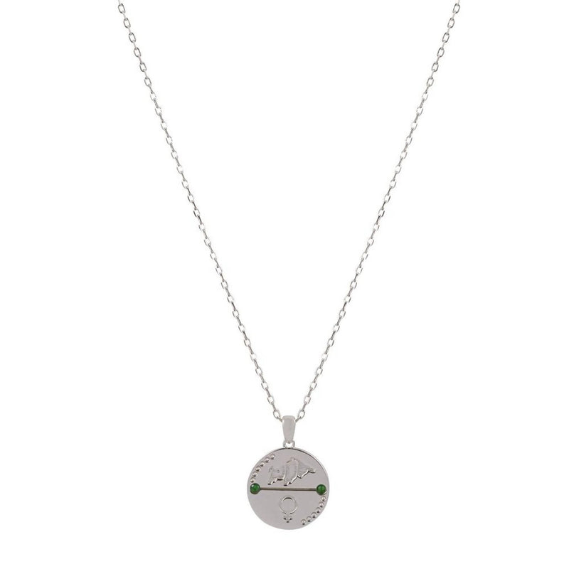 TAURUS ZODIAC NECKLACE - Space to Show