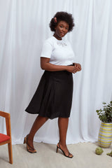 2 in 1 Sadie Skirt Black - Space to Show