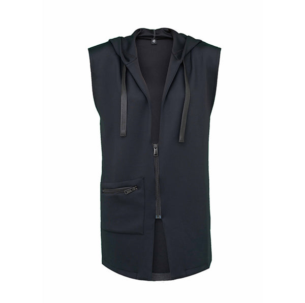 Stan B, sporty sleeveless jacket - Space to Show