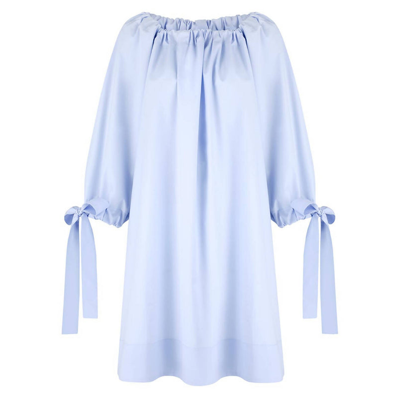 Fabiana Short Baby Blue Dress - Space to Show