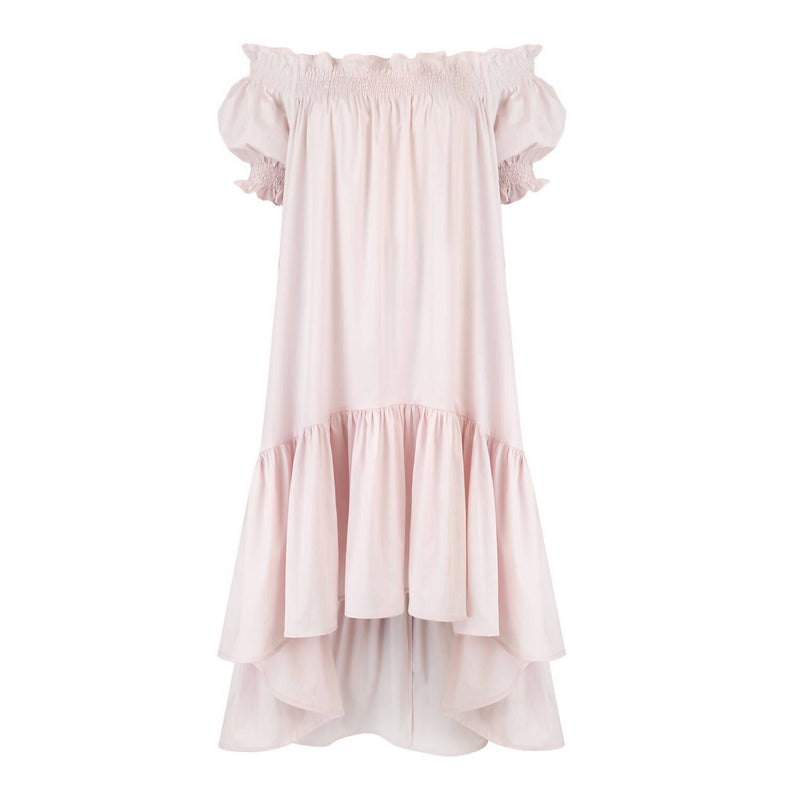 Lori Blush Cotton Dress - Space to Show