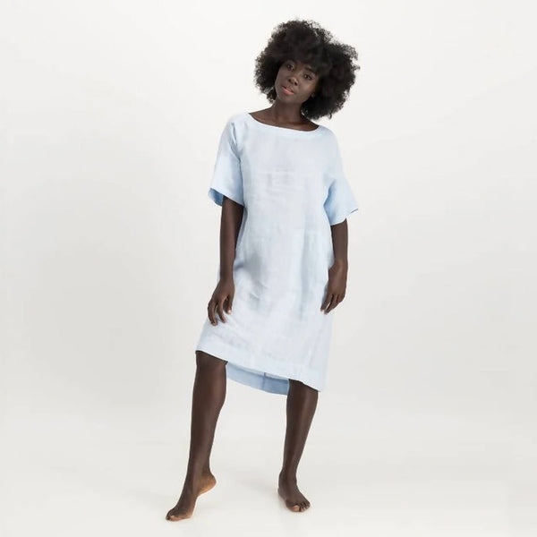 LUNAR karen dress - sky blue
