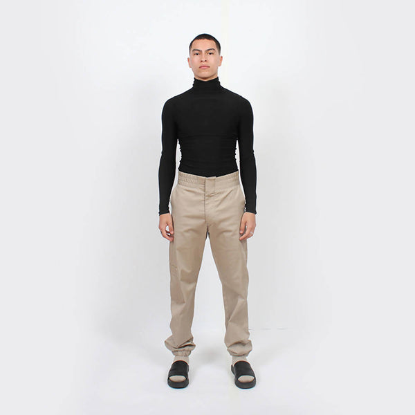 Slinky Turtleneck : Black - Space to Show