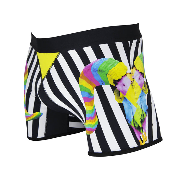 Men's boxer briefs / No.: UN16047 / Design title: psychedelic bull - Space to Show