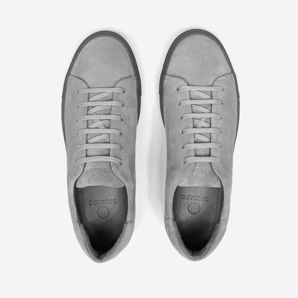 Suede Sneakers Grey - Umberto - Space to Show