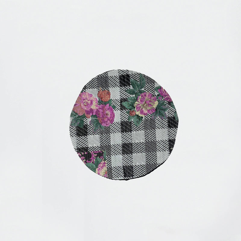 Pink Flower beret - Space to Show