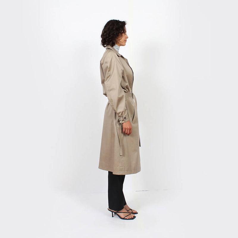 Trench Raglan Jacket : Khaki - Space to Show