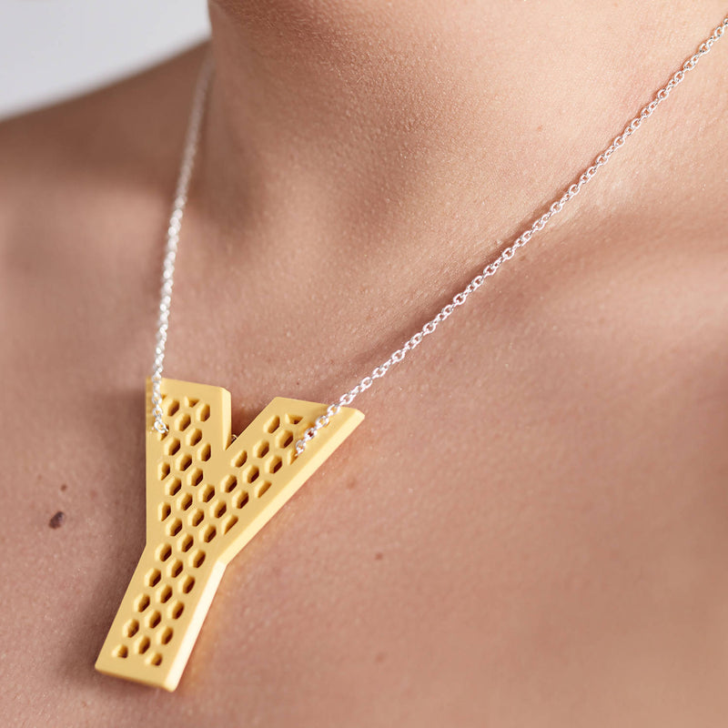 'Y' Statement Pendant + Chain - Space to Show