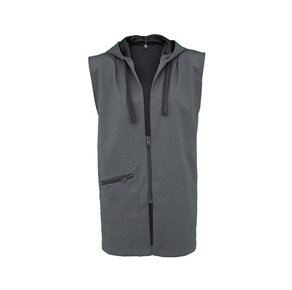 Stan, minimal sleeveless jacket - Space to Show