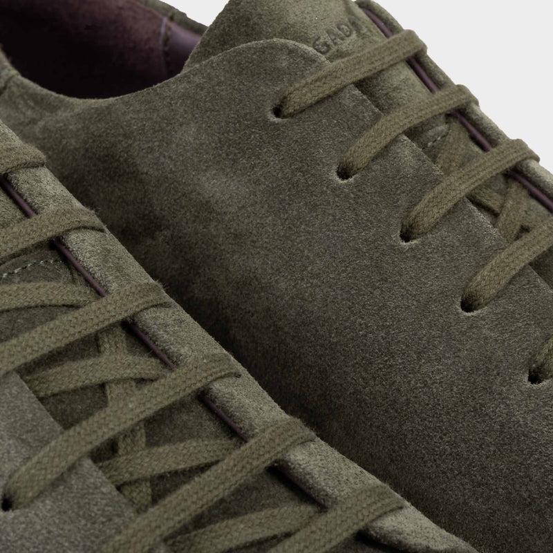 Suede Sneakers Green - Giuseppe - Space to Show