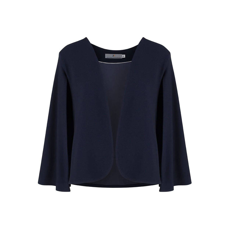 Angela Navy Cape-Jacket - Space to Show